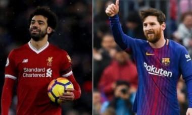 Messi Salah