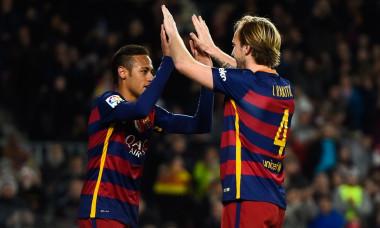 neymar rakitic barcelona