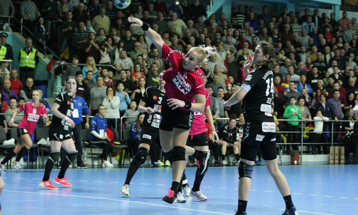 HANDBAL FEMININ: HC ZALAU - KASTAMONU BELEDIYESI GSK, CUPA EHF (3.03.2018)