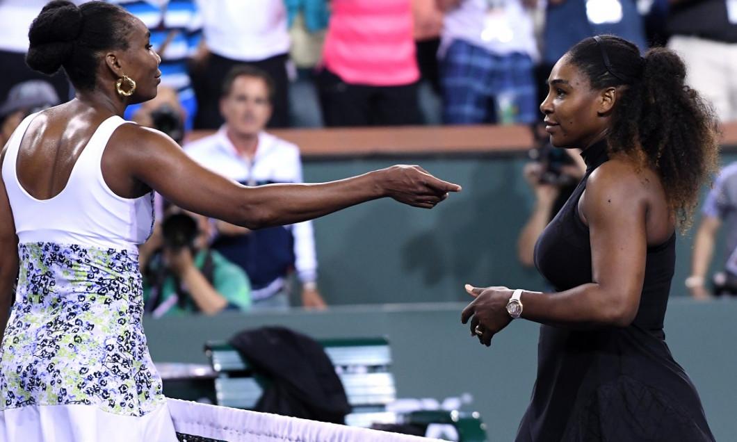 Venus Serena Williams Indian Wells