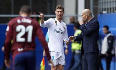 Cristiano Ronaldo - Zinedine Zidane Real Madrid