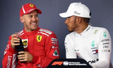 Vettel si Hamilton Melbourne 2018