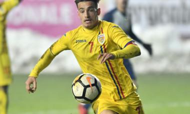 FOTBAL:ROMANIA U19-SUEDIA U19, TURNEUL DE ELITA (24.03.2018)