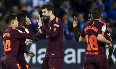 Coutinho Barcelona Pique Champions League