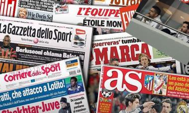 sport newspapers