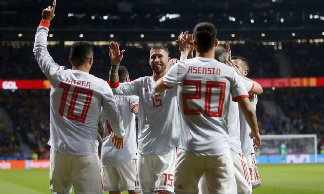 Spania Argentina amical gol