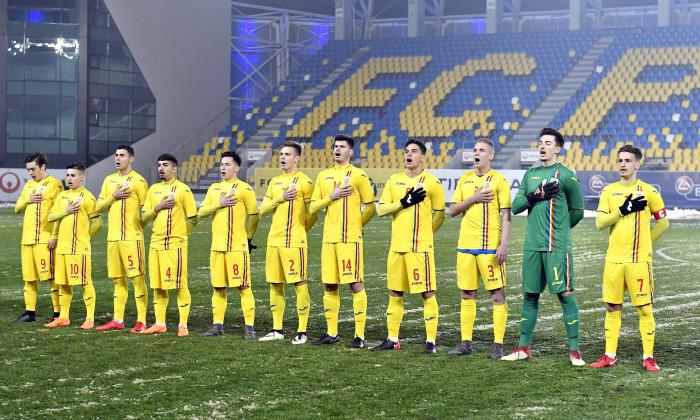 FOTBAL:ROMANIA U19-SERBIA U19, TURNEUL DE ELITA (21.03.2018)