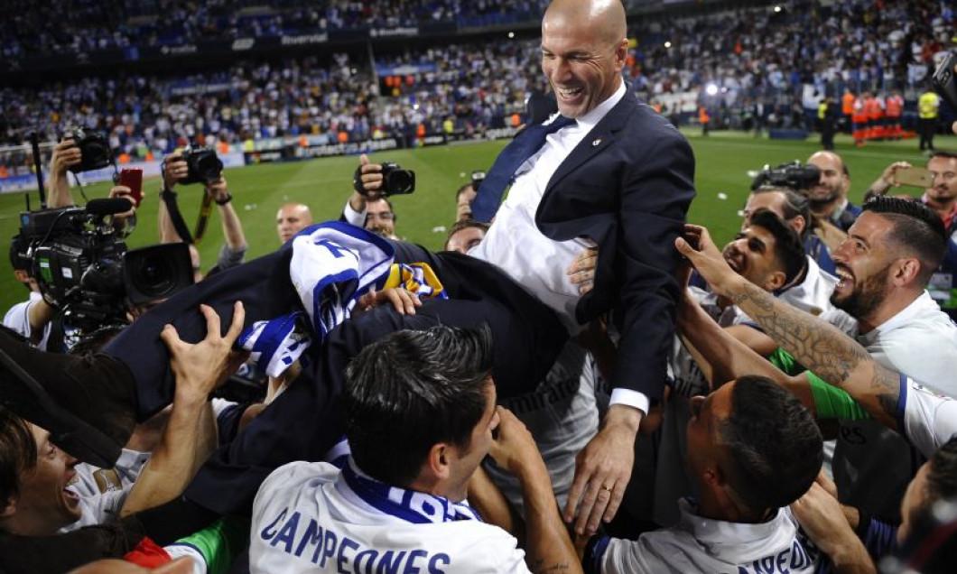 Marco Asensio, Rene Krhin, Zinedine Zidane