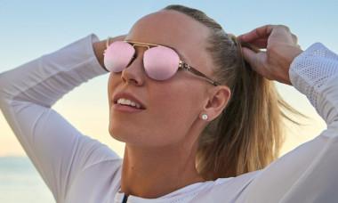 caroline wozniacki ochelari de soare