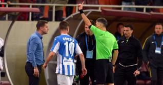 FOTBAL:FC STEAUA BUCURESTI-CSM POLITEHNICA IASI, PLAY OFF LIGA 1 BETANO (1.04.2018)