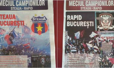 Program meci Steaua-Rapid