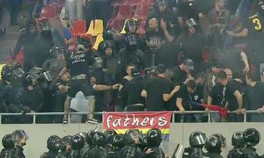 Steaua - Rapid incidente fani