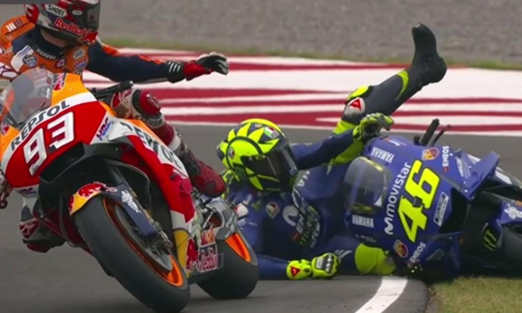 Marquez si Rossi