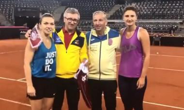 Dan Petrescu Fed Cup