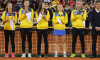 TENIS: CEREMONIA DE DESCHIDERE, FED CUP ROMANIA - ELVETIA (21.04