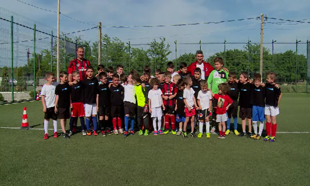 copii academie Milan Craiova