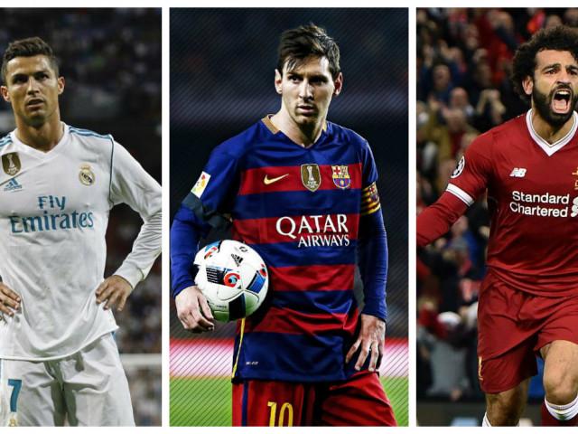 Balonul de Aur 2018: Ronaldo vs. Messi vs. Salah! Primii doi se luptă azi în El Clasico