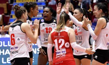 VOLEI FEMININ:CS VOLEI ALBA BLAJ-GALATASARAY ISTANBUL, FINAL 4 LIGA CAMPIONILOR (5.05.2018)