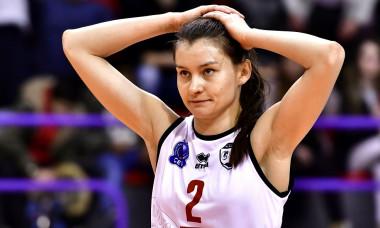 VOLEI FEMININ:CSM VOLEI ALBA BLAJ-DEVELOPRES SKYRES RZESZOW, LIGA CAMPIONILOR (22.02.2018)