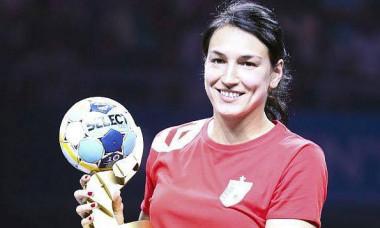 Cristina Neagu golgheter trofeu 2018
