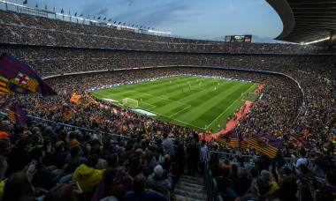 camp nou barcelona - real fani