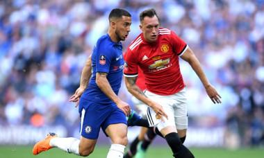 Hazard Chelsea - Manchester United