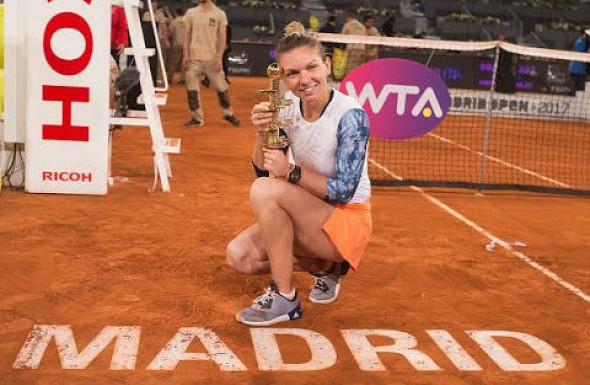 madrid halep
