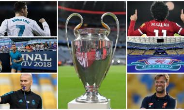 Real Madrid - Liverpool, finala Champions League, 21:45! Toate detaliile despre meciul așteptat de o lume întreagă