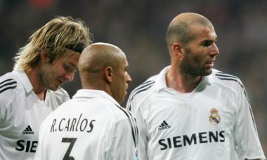 Zidane Beckham Roberto Carlos