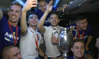bucurie Craiova Cupa autocar