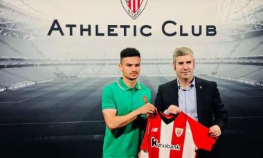 Cristian Ganea, prezentat la Athletic Bilbao