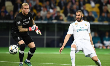benzema karius real liverpool champions league
