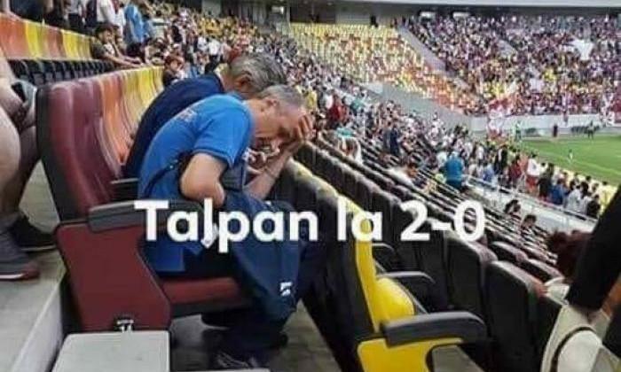 Florin Talpan pe Arena Nationala