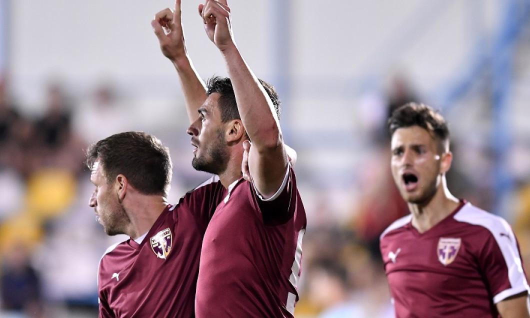 FOTBAL:JUVENTUS BUCURESTI-FC VOLUNTARI, PLAY OUT LIGA 1 BETANO (2.06.2018)