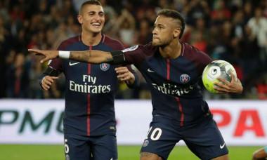 Verratti si Neymar