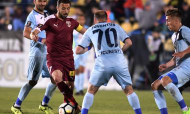 FOTBAL:FC VOLUNTARI-JUVENTUS BUCURESTI, PLAY OUT LIGA 1 BETANO (27.04.2018)