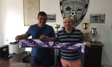 Ionel Ganea oficial ACS Poli