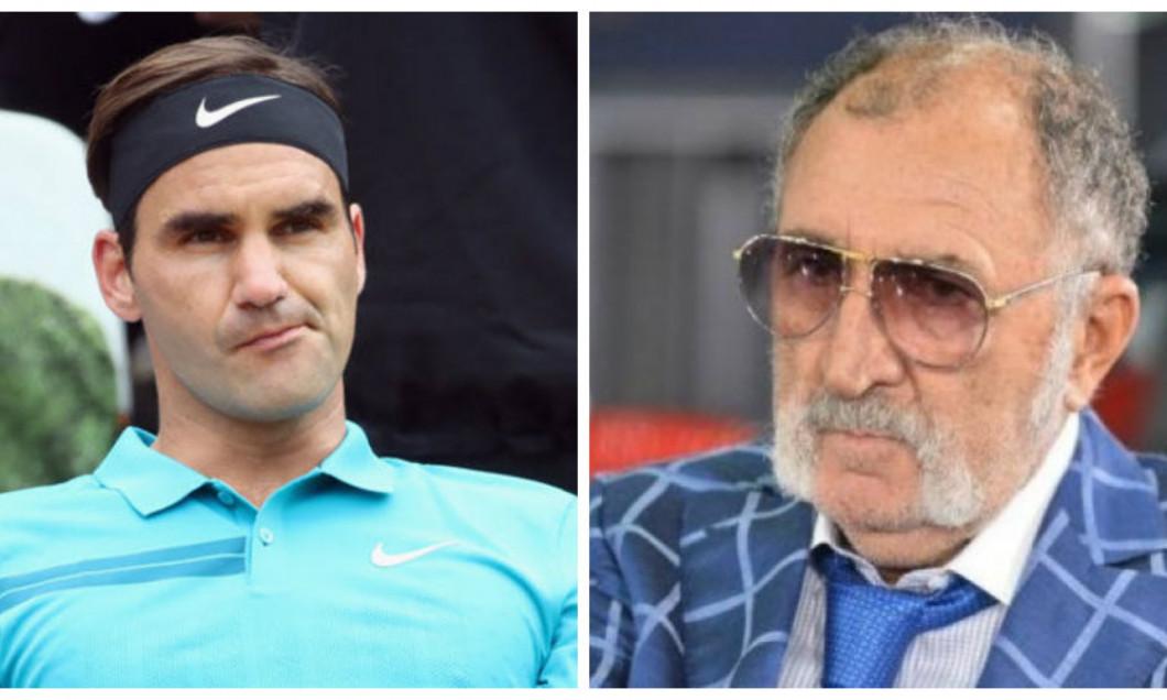 Federer si Tiriac