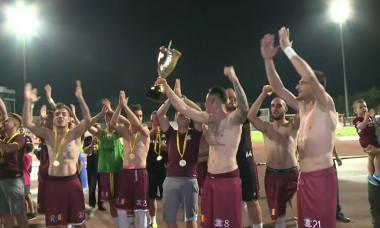 Rapidisti bucurie Cupa fani