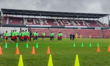 CFR Cluj pregatire Gruia