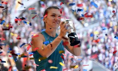 TENIS FEMININ:SIMONA HALEP PE ARENA NATIONALA (11.06.2018)
