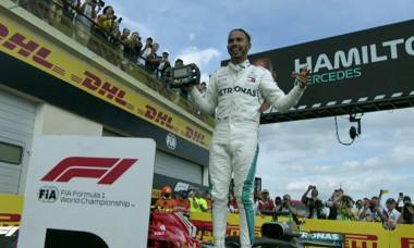 Hamilton F1 Franta