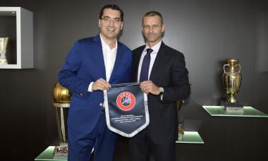 UEFA President Aleksander Ceferin Receives NA Presidents