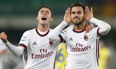 Suso gol Milan