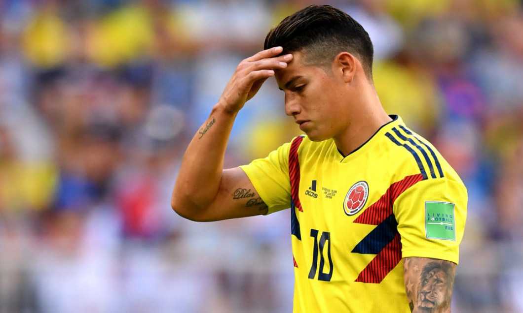 James Rodriguez accidentat