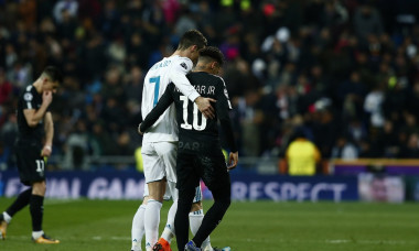 Neymar Cristiano Ronaldo Real Madrid