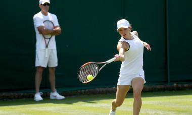 Simona Halep Wimbledon 2018