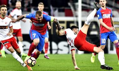 FOTBAL:FCSB-DINAMO BUCURESTI, PLAY OFF LIGA 1 ORANGE (2.04.2017)