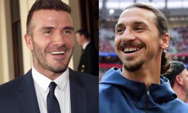 Beckham si Zlatan pariu