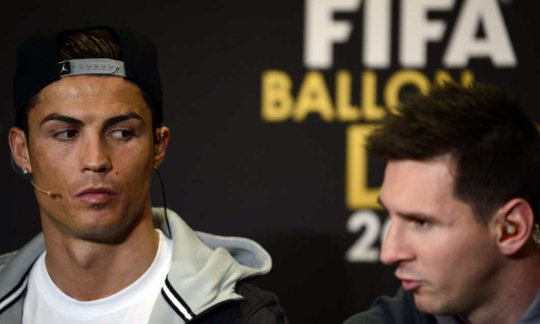 Ronaldo Messi Balon de aur